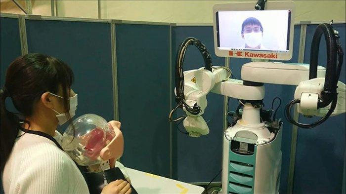 Pemda Kobe Jepang Kerjasama Medicaroid Corporation Implementasikan Robot Buat Pengujian Tes PCR