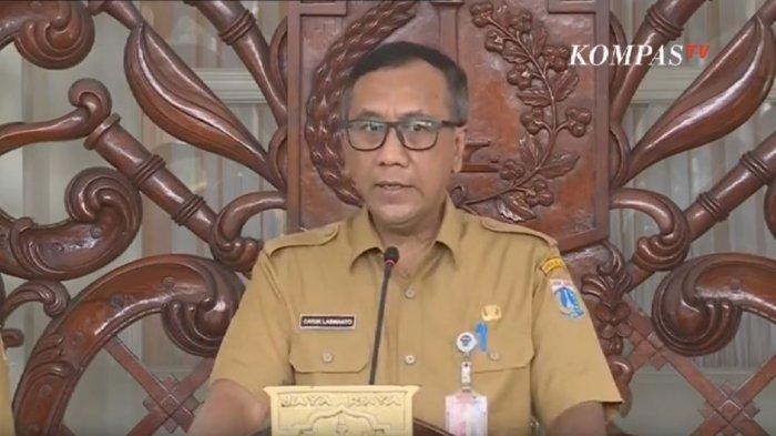 BREAKING NEWS: Pemprov DKI Jakarta Bentuk Tim Khusus Penanganan Corona