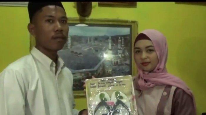 Kisah Pernikahan dengan Mahar Segelas Air dan Sandal Jepit, Mempelai Pria Dituding Cari Sensasi