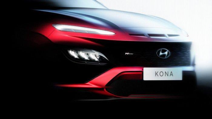 Hyundai Tebar Teaser Kona & Kona N Line Facelift Terlihat Makin Agresif