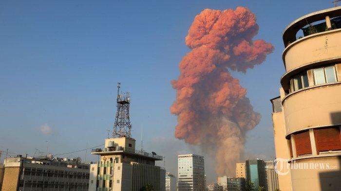 Ini Analisis Sejumlah Ahli Seberapa Kuat Ledakan di Beirut Dibandingkan dengan Bom Nuklir