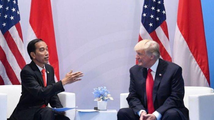 Ini Pembicaraan Keduanya Donald Trump akan Kirim Ventilator setelah Bicara dengan Jokowi