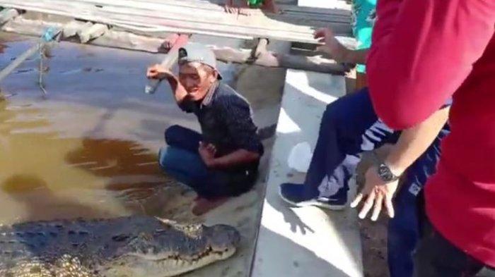 Kisah Warga Kalimantan Jadikan Buaya Betina Sebagai Anak Angkat Karena Merasa Ada Ikatan Batin