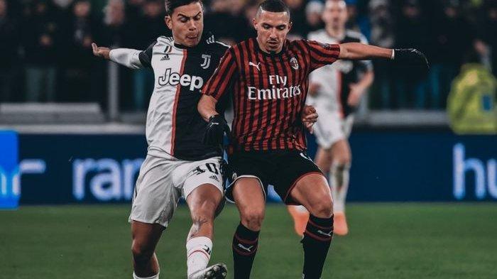 Live Bein Sports & RCTI Cagliari vs Juventus Jadwal Liga Italia Dini Hari - Sampdoria vs AC Milan