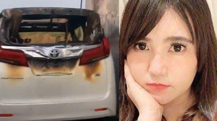 Via Vallen Kaget Ada Sosok Ini di CCTV Tak Henti Ucap Istighfar Lihat Mobilnya Terbakar Siapa